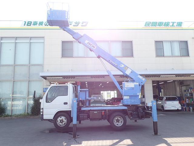 高所作業車 アイチ製 作業高12.6M 5MT 上物同年式(9枚目)