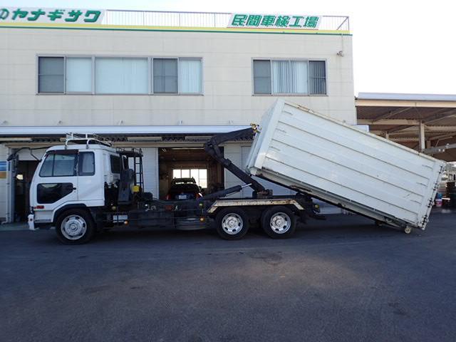 UDトラックス コンドル アームロール コンテナ付 18立米 増トン11.6t 6MT