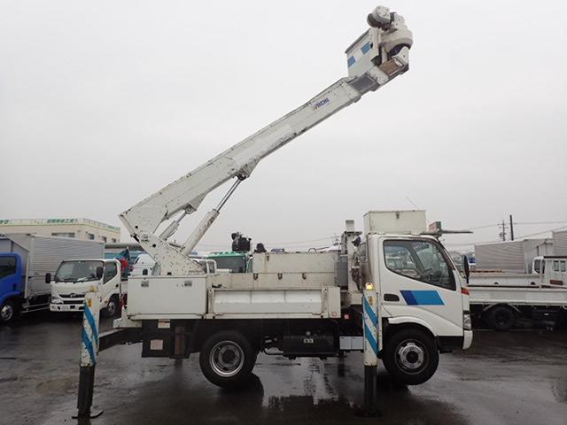 アイチ製 電工仕様 高所作業車 14.6M サブバッテリー(9枚目)