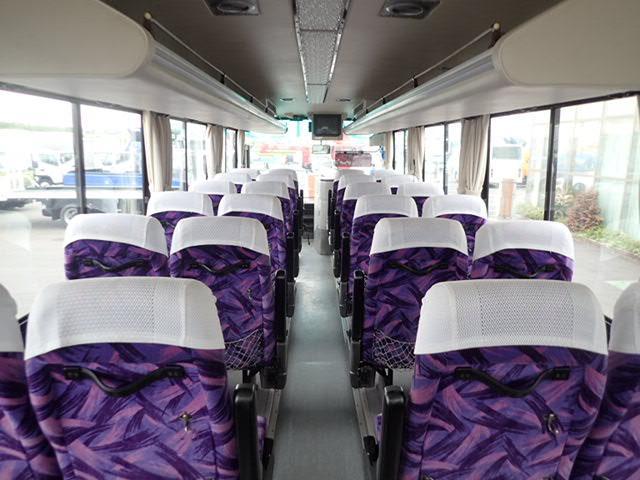 29人乗 バス フルエアサス フィンガーシフト6速(19枚目)