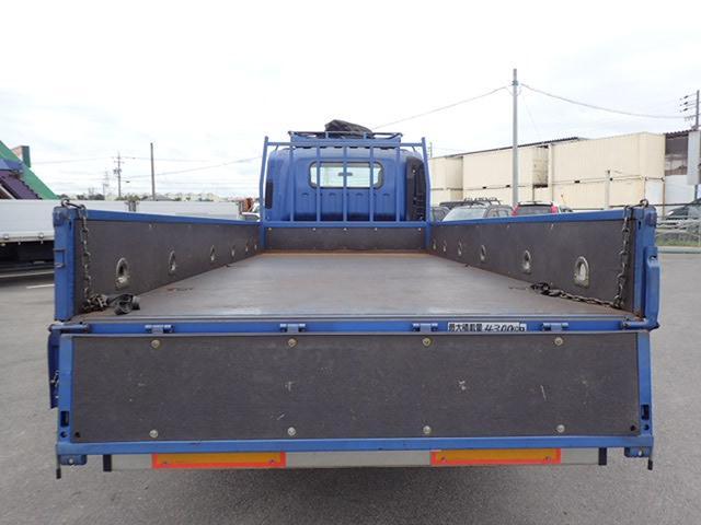 4.3トン ワイドロング 平ボディ AT車 全低床 3方開(7枚目)