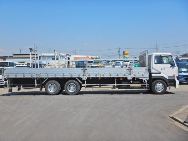 最大積載量:13800kg・車輌総重量:25000kg