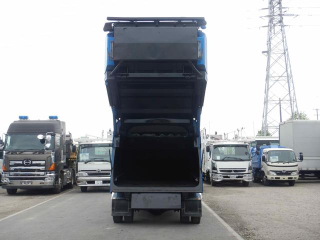 プレス式パッカー車 連続作動 容積8.5立米 6MT(7枚目)