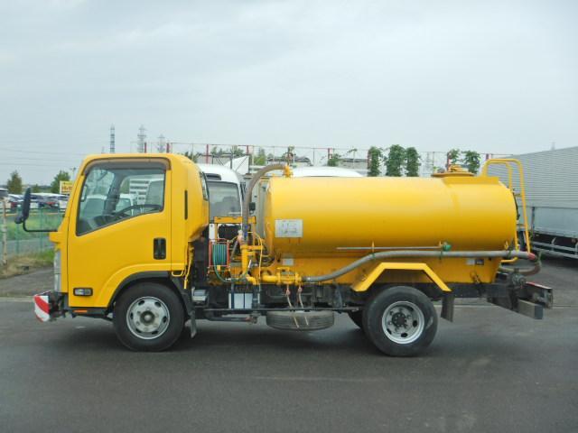 散水車 タンク容量4000L AT車 新明和製 サブEG式(3枚目)