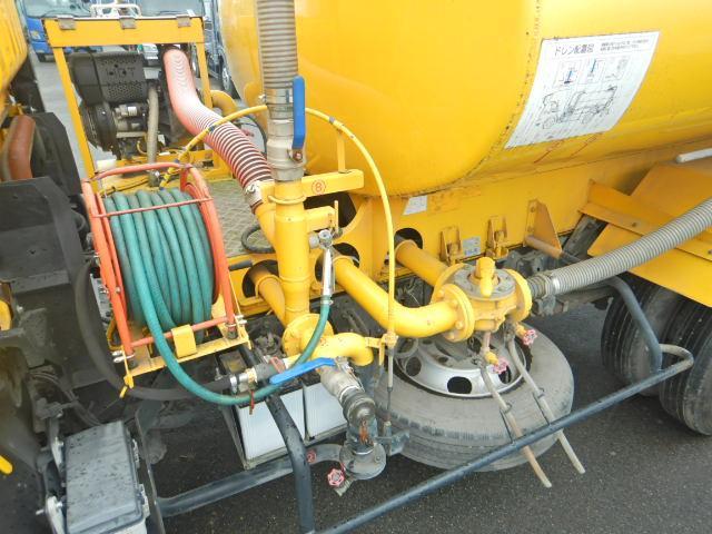 散水車 タンク容量4000L AT車 新明和製 サブEG式(15枚目)