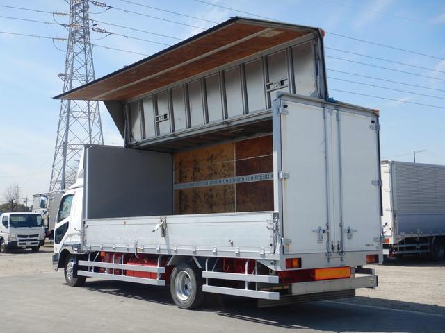 アルミウイング 増トンワイドロング 7t 6MT ベッド付き(12枚目)