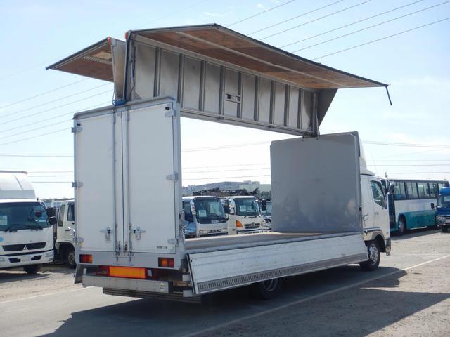 アルミウイング 増トンワイドロング 7t 6MT ベッド付き(14枚目)