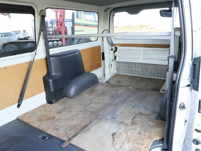 DX 4WD リフト付き ディーゼルターボ ロング 左サイドスライド扉 1000kg(10枚目)