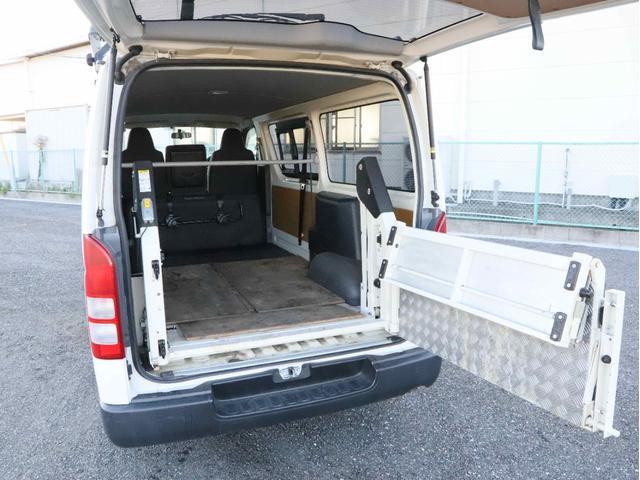 DX 4WD リフト付き ディーゼルターボ ロング 左サイドスライド扉 1000kg(13枚目)