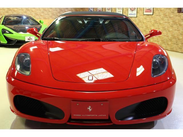 F1 正規D車 フルオプション ロッソスクーデリア カーボンブレーキ 赤革デイトナシート 純正ポリッシュアルミ(4枚目)