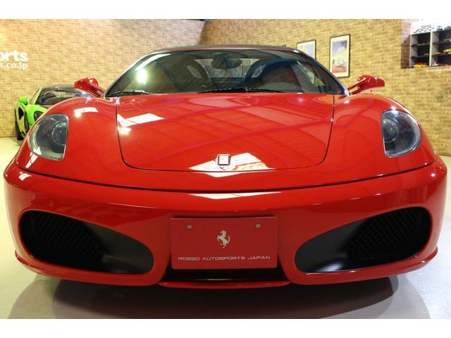 F1 正規D車 フルオプション ロッソスクーデリア カーボンブレーキ 赤革デイトナシート 純正ポリッシュアルミ(27枚目)