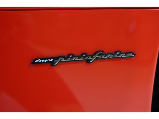 F1 正規D車 フルオプション ロッソスクーデリア カーボンブレーキ 赤革デイトナシート 純正ポリッシュアルミ(37枚目)