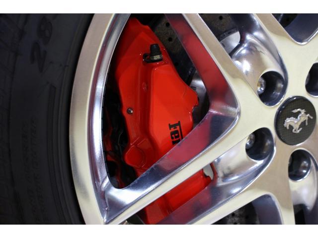 F1 正規D車 フルオプション ロッソスクーデリア カーボンブレーキ 赤革デイトナシート 純正ポリッシュアルミ(38枚目)
