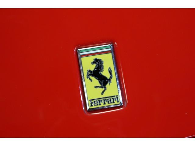 F1 正規D車 フルオプション ロッソスクーデリア カーボンブレーキ 赤革デイトナシート 純正ポリッシュアルミ(45枚目)