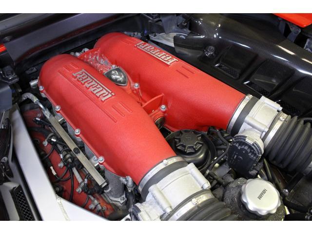 F1 正規D車 フルオプション ロッソスクーデリア カーボンブレーキ 赤革デイトナシート 純正ポリッシュアルミ(46枚目)