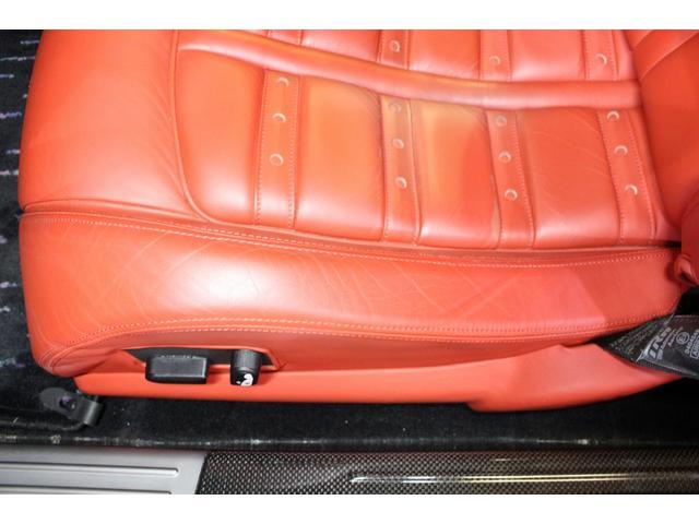 F1 正規D車 フルオプション ロッソスクーデリア カーボンブレーキ 赤革デイトナシート 純正ポリッシュアルミ(48枚目)