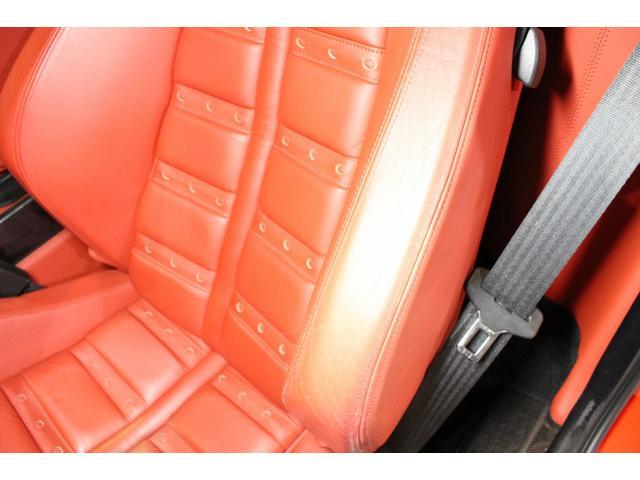 F1 正規D車 フルオプション ロッソスクーデリア カーボンブレーキ 赤革デイトナシート 純正ポリッシュアルミ(49枚目)