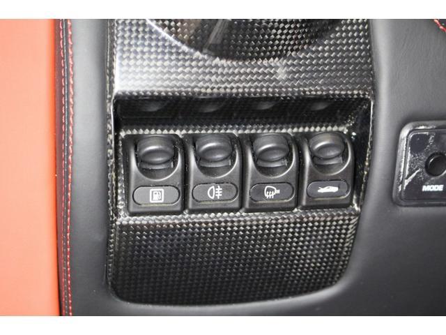 F1 正規D車 フルオプション ロッソスクーデリア カーボンブレーキ 赤革デイトナシート 純正ポリッシュアルミ(51枚目)