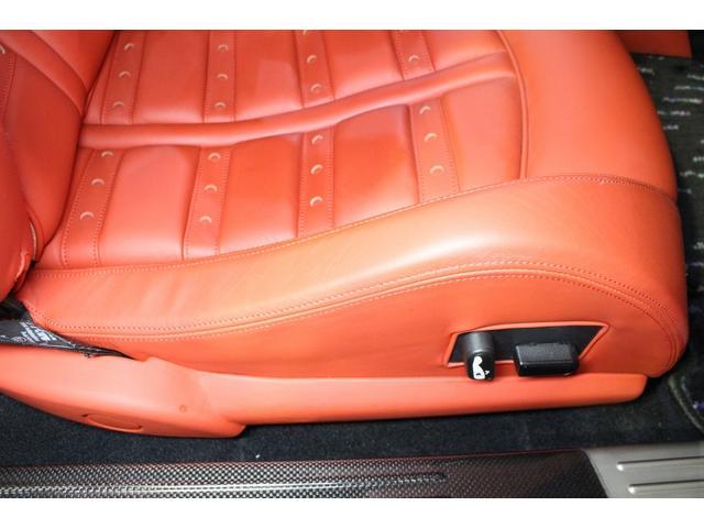 F1 正規D車 フルオプション ロッソスクーデリア カーボンブレーキ 赤革デイトナシート 純正ポリッシュアルミ(57枚目)