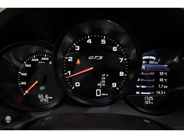 GTS 雨天未使用 スポーツクロノパッケージ アルミニウムパッケージ スポーツデザインステアリング スポーツエキゾーストシステム アルカンターラシート  ウィンカー 5ターンシグナル(55枚目)