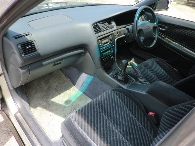 トヨタ マークII ツアラーV 色替 5速MT載換 車高調 マフラー 18アルミ
