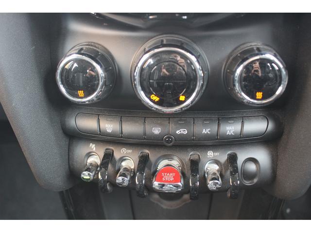 クーパーSD 後期型 LEDヘッドデイライト UJテール タッチパネル式ナビ バックカメラ コンフォートアクセス  MINIコントローラー ETC シートヒーター ディーラー車(14枚目)