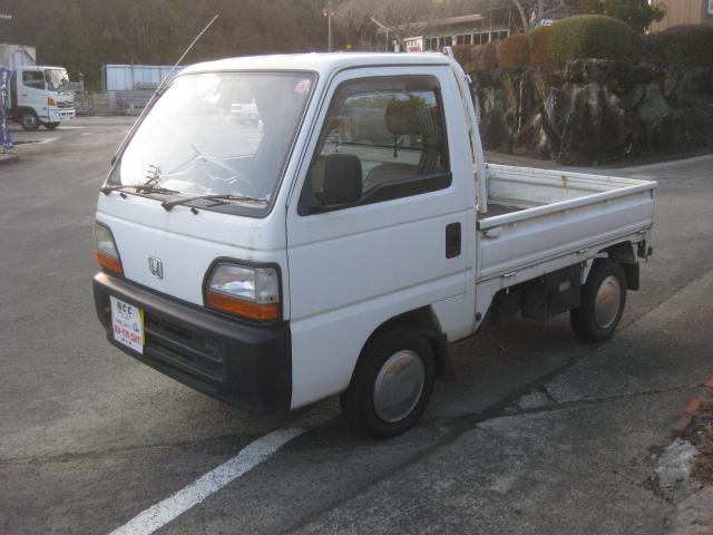 ホンダ アクティトラック 1オーナー4WD5速マニュアルキーレスAC