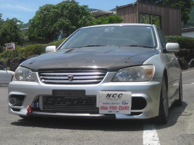 トヨタ アルテッツァ RS200 Zエディション インタークーラーターボレカロ