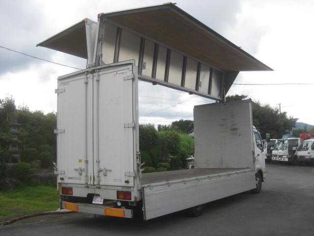 1オーナー電動アルミウイングエアサスDターボ6200ロング(60枚目)