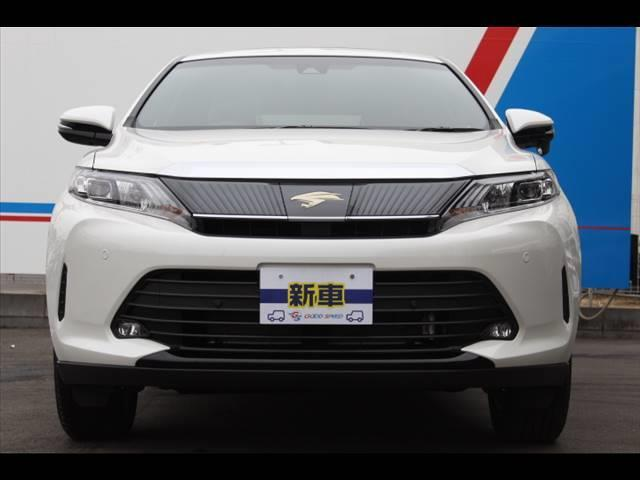 トヨタ ハリアー ELEGANCE 新車未登録 BIG-X10インチ クリソナ
