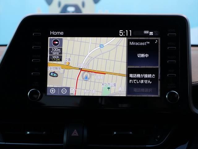 ハイブリッド G 衝突軽減装置 ディスプレイオーディオ LEDヘッドライト ナビ レーダークルーズコントロール フォグランプ 純正18インチAW USBポート オートマチックハイビーム ハーフレザー(5枚目)
