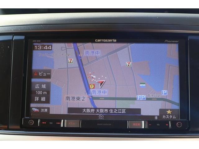 フルセグSDナビ搭載。DVD再生、Bluetooth、ミュージックサーバーなど装備も充実です。