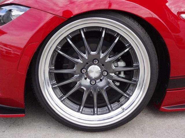 マツダ ロードスター S スペシャルP KUHLRACINGエアロVER2 車高調