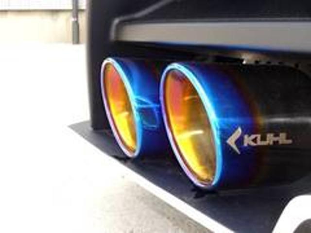 S KUHLバンパーフルエアロBLITZ車高調19インチAW(19枚目)
