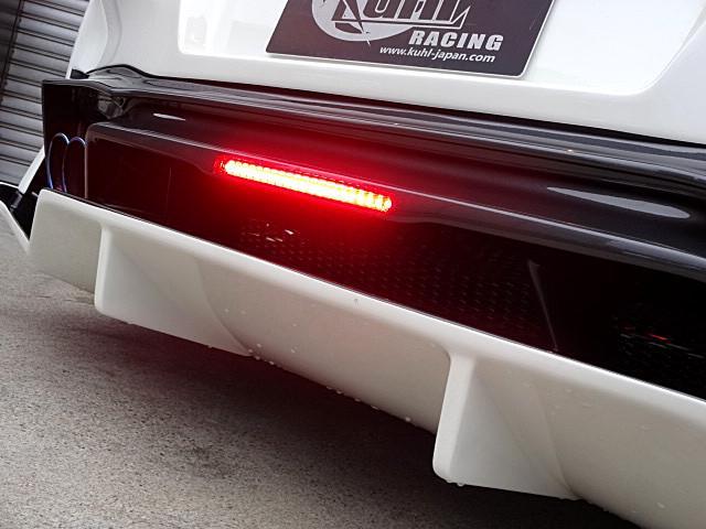 ベースグレード KUHL新作後期仕様新品フルエアロ BLITZ車高調 VERZ20インチAW 純正HDDナビ バックカメラ(39枚目)