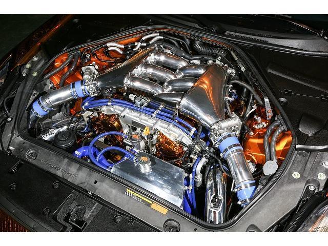 ベースグレード KUHL新作後期仕様新品フルエアロ BLITZ車高調 VERZ20インチAW 純正HDDナビ バックカメラ(46枚目)
