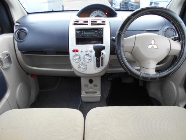 三菱 eKワゴン M 電格ミラー キーレスキー CD エアバッグ パワステ
