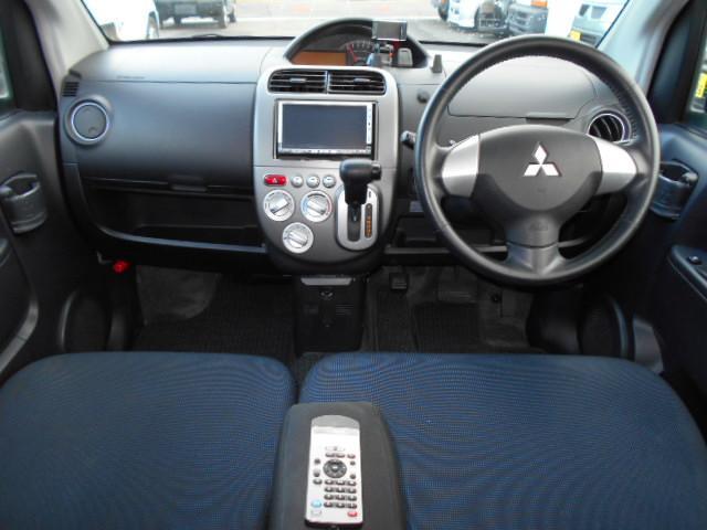 三菱 eKスポーツ X 4WD HDDナビ ETC DVD再生 CD録音 アルミ