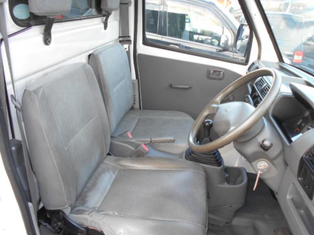 三菱 ミニキャブトラック 4WD タイミングベルト交換済 エアコン 5速MT ホロ付