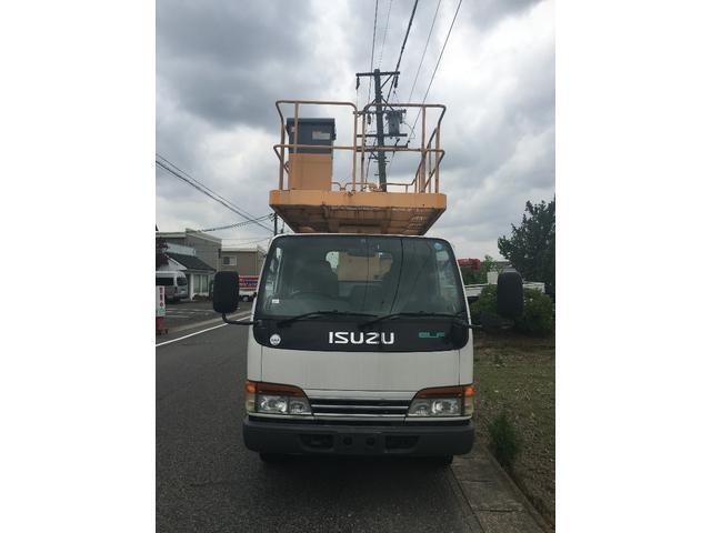 いすゞ エルフトラック 高所作業車 ローラージャッキ 特定自主検査付き TZ10A