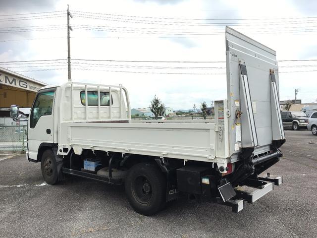 いすゞ エルフトラック ワイドロング パワーゲート 積載3t 内寸3520-1890