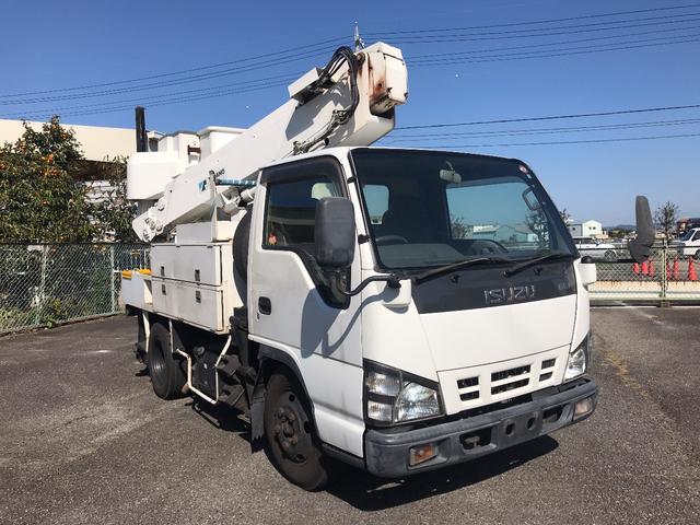 高所作業車 10m タダノ AT100 電工仕様(3枚目)