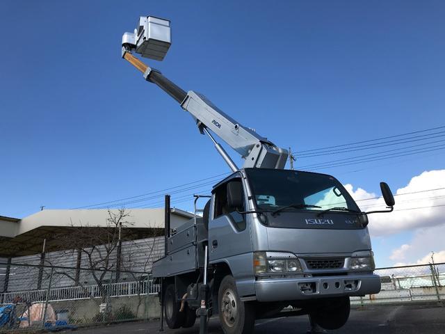 いすゞ エルフトラック SH106 高所作業車 アイチ 電工仕様 特定自主検査付き