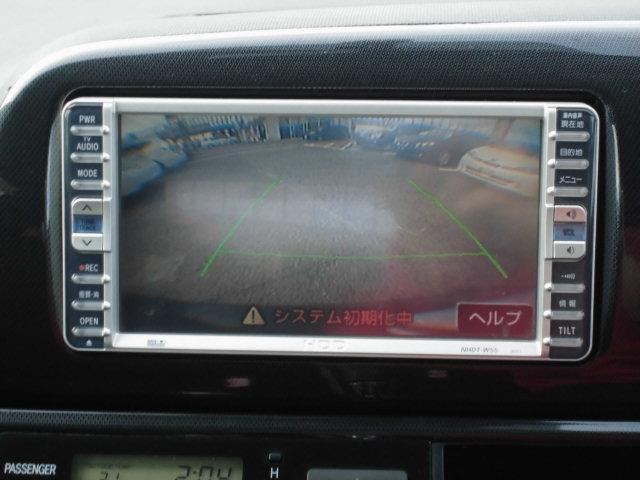 トヨタ ウィッシュ X エアロスポーツPKG 純正HDDナビ Bカメラ HID