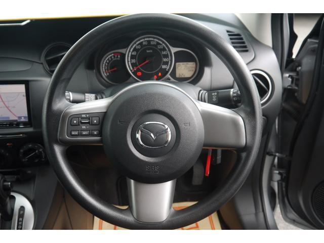マツダ デミオ 13C-V スマートエディション ナビ キーレス
