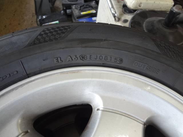 2015年製造のタイヤです。