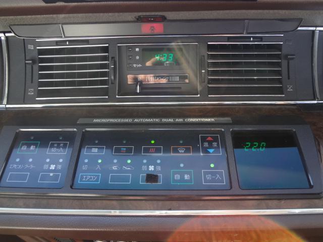 トヨタ センチュリー Eタイプ コラムシフト クレーガー&ホワイトレター