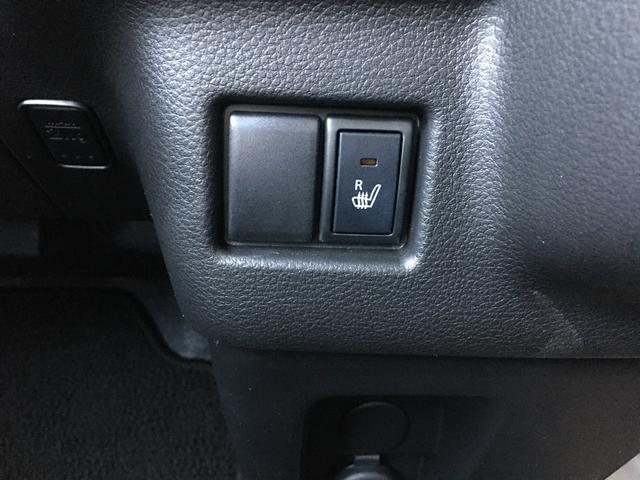 運転席シートヒータースイッチ