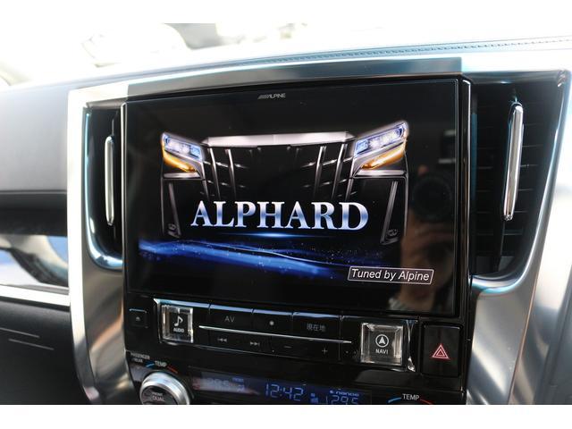 ALPINE製の車種専用設計大画面11インチナビ搭載!!純正同等のフィッティングで、映像も鮮明になっております!大画面で使いやすい、贅沢内ナビで快適なカーライフを!!