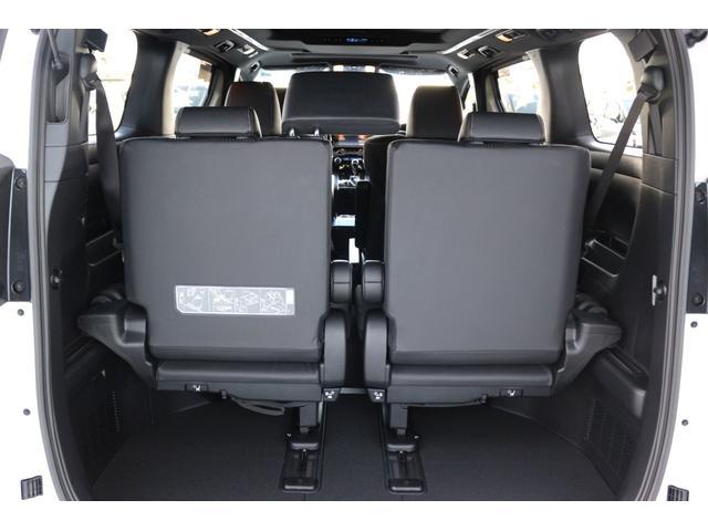 2.5S タイプゴールドII Wサンルーフ デジタルインナーミラー ブラインドスポットモニター AC100V電源 アルパインBIGXナビ対応 両側パワースライドドア パワーバックドア 衝突軽減ブレーキ 新車(27枚目)